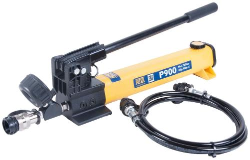 JöTek Hydraulics 2-stegs handpump 700 bar (900cm³)