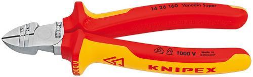 Knipex 14 26 160 - Sidavbitare med skalfunktion VDE 1000V