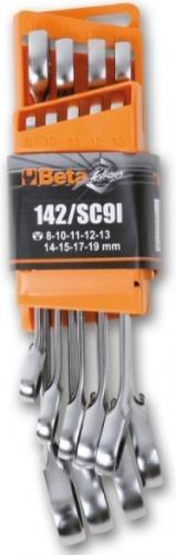 Beta 142/SC9I Ringspärrnyckelsats 8-19mm