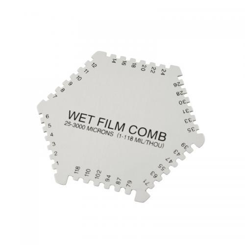 Våtfilmskam aluminium mm/tum