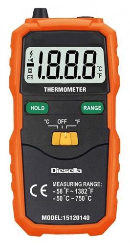 Diesella digital termometer K-typ
