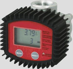 """Digital dieselmätare 10-100l/min 1"""""""