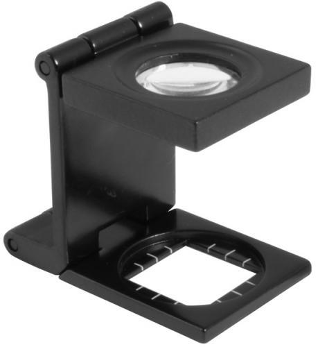 Fällbart LED förstoringsglas Ø15mm