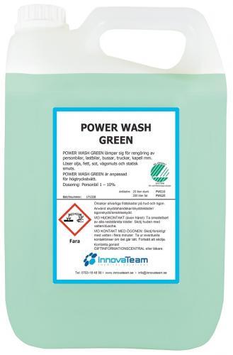 InnovaTeam Powerwash GREEN alkalisk avfettning