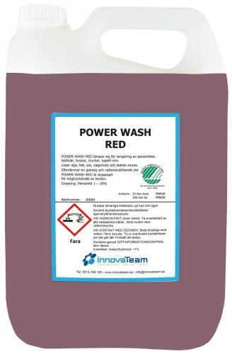 InnovaTeam Powerwash RED alkalisk avfettning