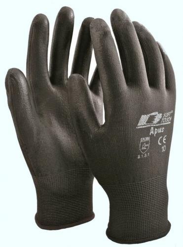 Soft touch Apus montagehandske (12-pack)