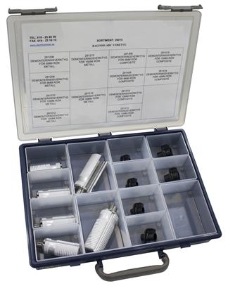 Sortimentlåda demonteringsverktyg för Raufoss tryckluftskopplingar