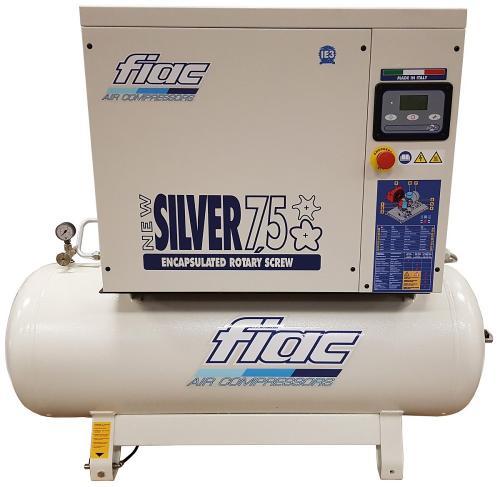 Fiac New Silver 711 skruvkompressor med kyltork