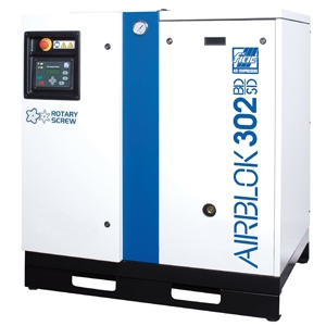 Fiac Airblok 402 BD-SD/8bar skruvkompressor utan tank/kyltork