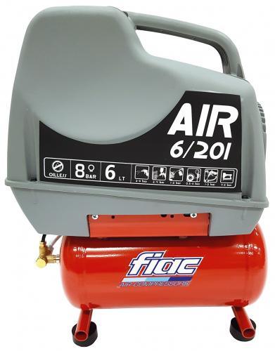 Fiac Air 6/201 kompressor oljefri 1-fas