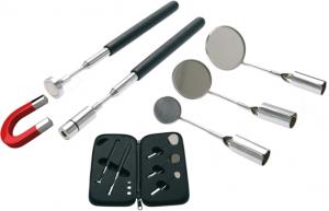 BGS 3095 Inspektionsset med teleskopiska pennmagneter/speglar
