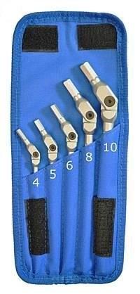 Bondhus HEX-PRO ledade insexnycklar 4-10mm