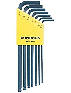 Bondhus BLX insexnyckelsats med kula, TUM