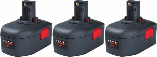 Ingersoll Rand  BL144 Li-ion batterikit 14,4V 2,6Ah (3-pack)