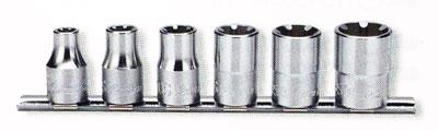 """Koken 1/2"""" LHS-hylsor 6S-16S sats (LHStix®-hylsor)"""