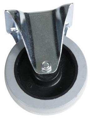 Fast hjul gummi 160x40mm