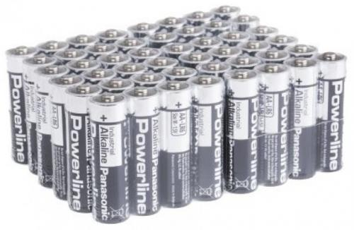 Panasonic Powerline industrial AA-batteri (48-pack)
