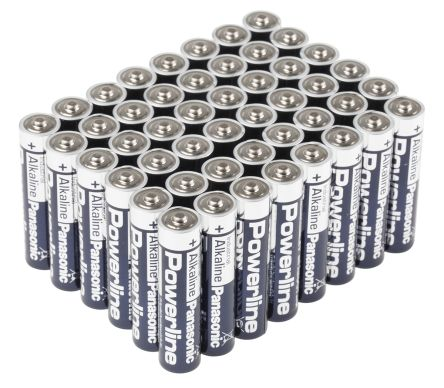 Panasonic Powerline industrial AAA-batteri (48-pack)