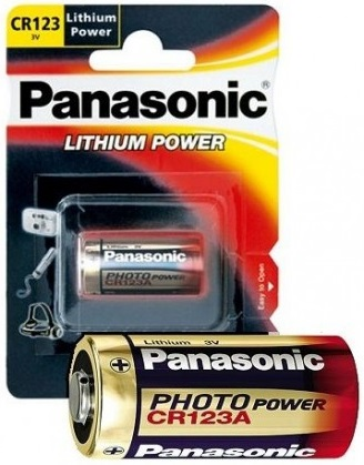 Panasonic Lithium Power CR123A (1-pack)