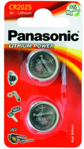 Panasonic Lithium Power CR2025 (2-pack)