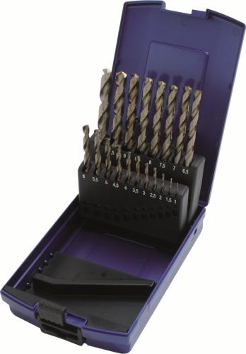 Borrsats 1-10X0,5 X-slipad Cobolt ABS-kasett