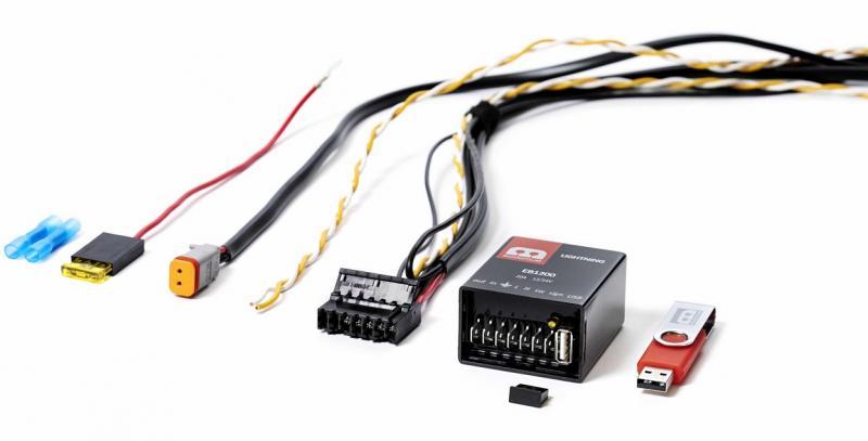 Modernum Digital Lightning 1200 extraljuskablage CAN-system