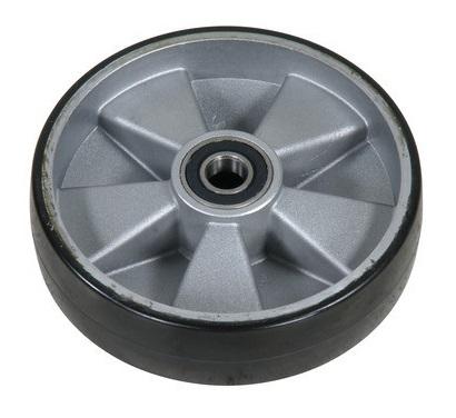 Styrhjul poly 200 mm