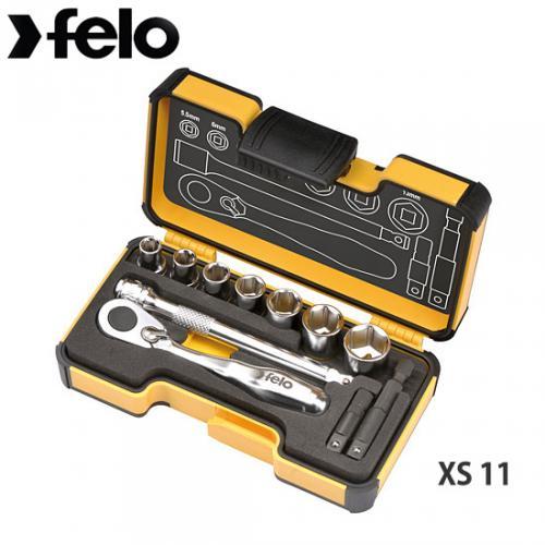Felo XS11 Hylssats med minispärr