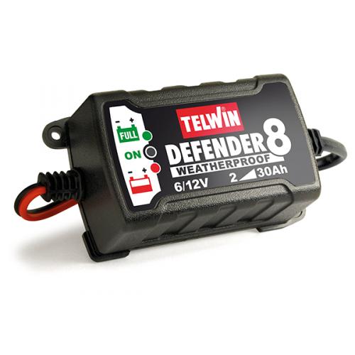 Telwin Defender 8 batteriladdare 6/12V