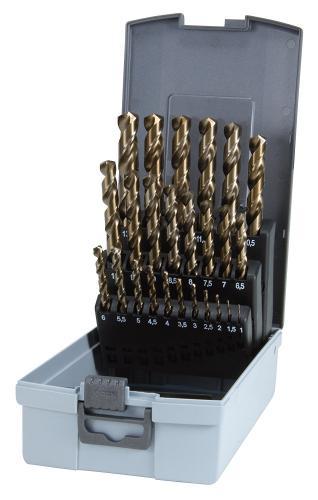 Ruko HSS borrsats 1-10mm vänster
