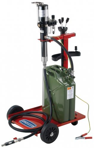 Flexbimec bränsletömmare tryckluft ATEX-klassad