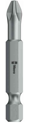 Wera 851/4 TZ Bits PH1-PH2 50mm