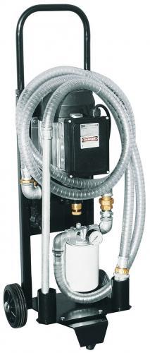 Piusi duperoil elektrisk oljerenare, filteraggregat