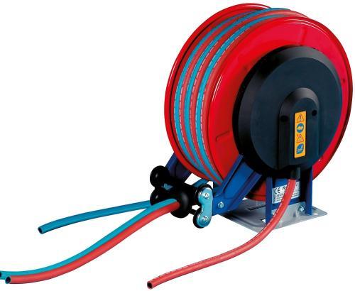 Faicom slangvinda med tvillingslang oxygen/acetylen 2x8mm 15m