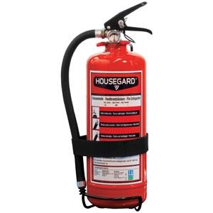 Housegard pulversläckare 2kg inkl hållare