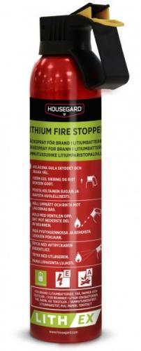 Housegard LITH-EX AVD brandsläckare för lithiumbatterier