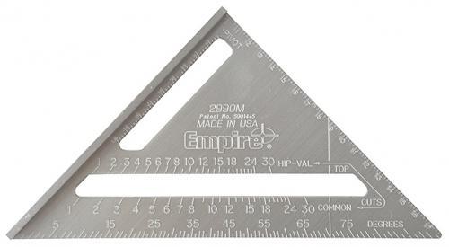 """Empire """"""""speed square aluminiumvinkel 7"""" (mm)"""