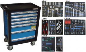 Bato verktygsvagn 7 lådor (inkl 208 delar) tum