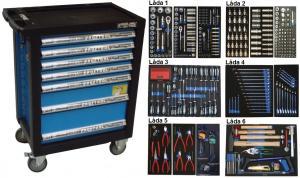 Bato verktygsvagn 7 lådor (inkl 468 delar)