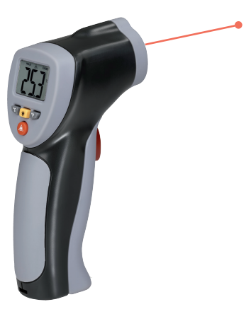 Zetek KM060 Infraröd termometer