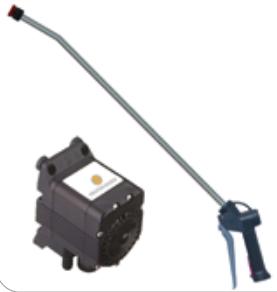 Flojet G-57 tryckluftsdriven kempump komplett kit (kalrez/viton XT packningar)