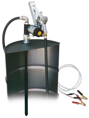 Dieselpump komplett kit för fat 12V 50l/min