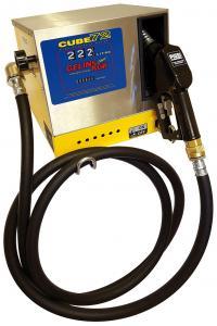 Piusi Cube 72 230V dieselpump (70l/min)