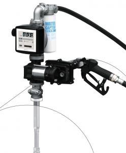 Piusi EX50 ATEX-bränslepump för fat 230V inkl. k33-mätare.