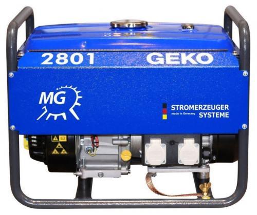 Geko 2801 E-A/SHBA elverk bensin