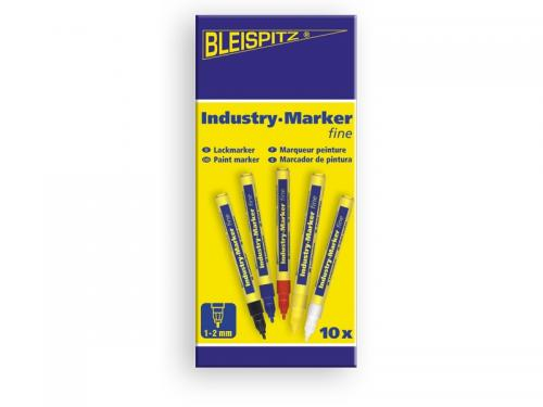 Industripennor 10st permanent 1-2mm spets