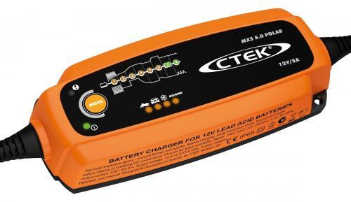 CTEK MXS 5.0 Polar batteriladdare