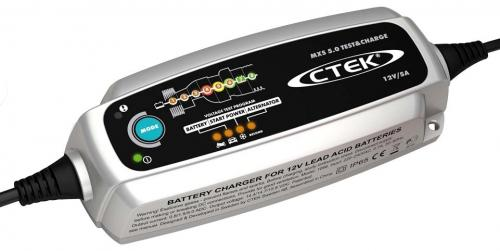 "CTEK MXS 5.0 ""Test & charge"" batteriladdare"