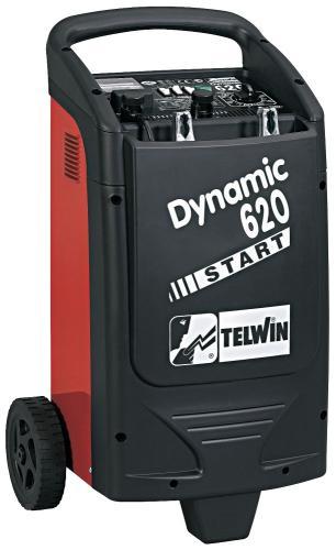 Telwin Dynamic 620 batteriladdare, utan stickpropp