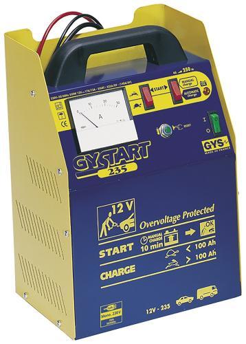 GYS Gystart 235 batteriladdare 12V